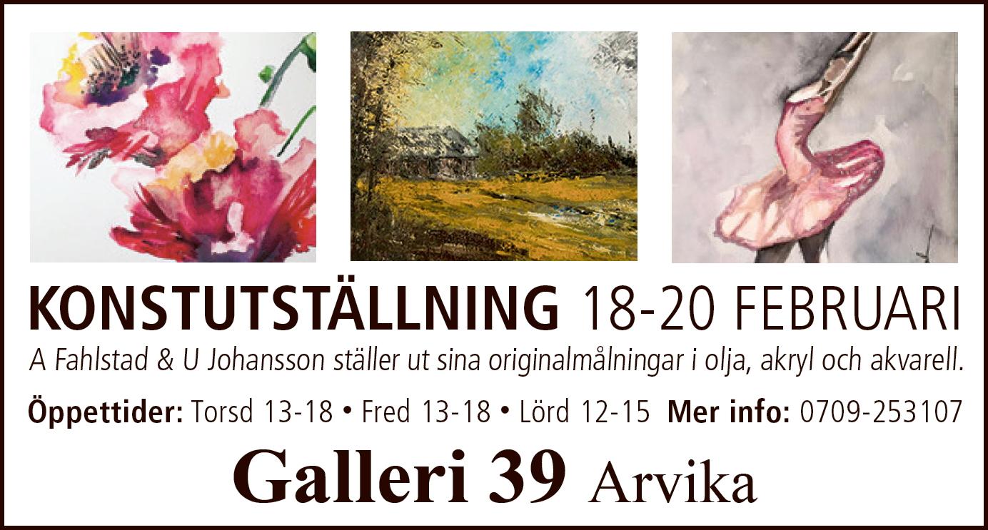 Galleri 39 Arvika